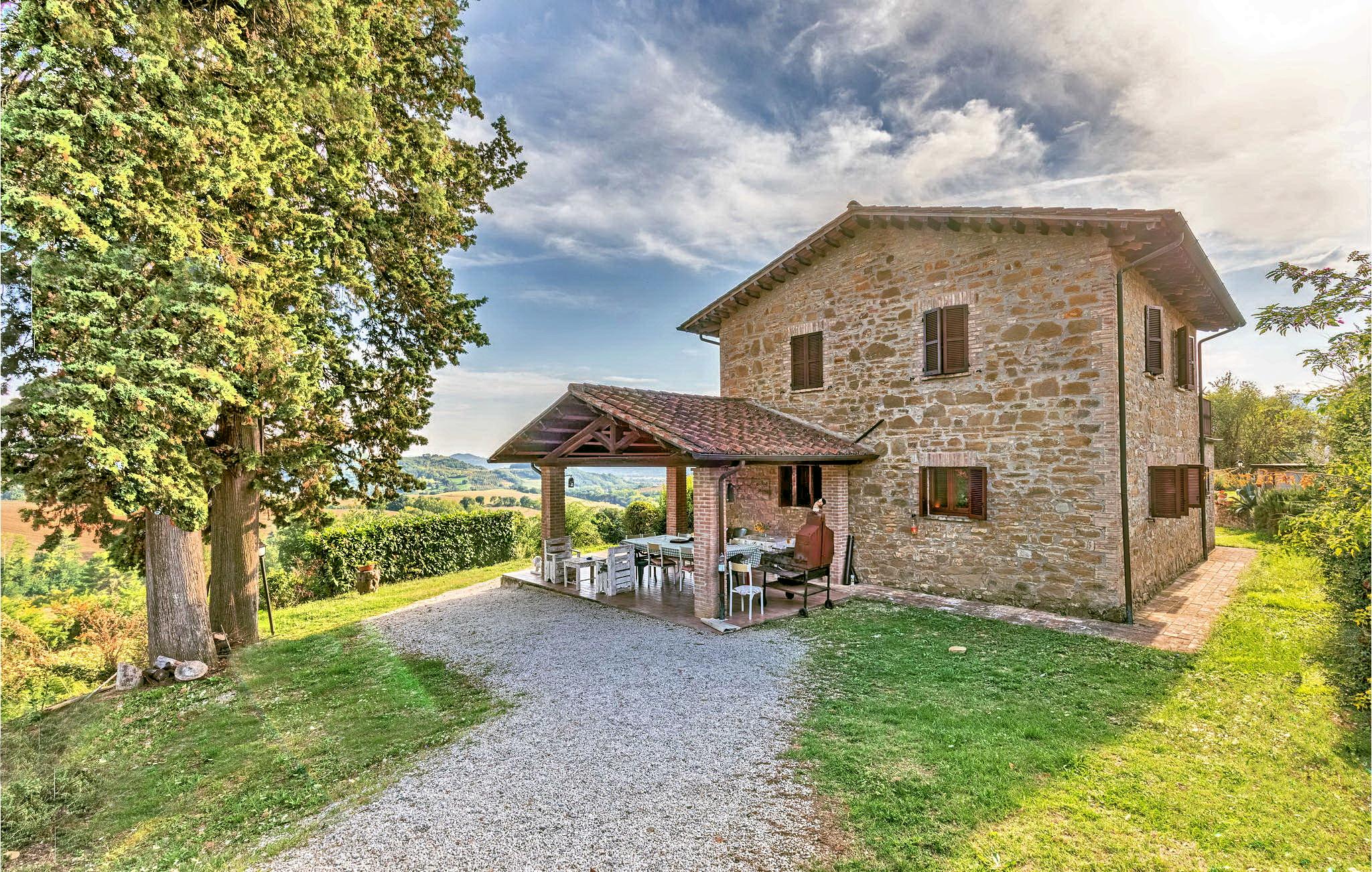 Villa con piscina vicino Perugia