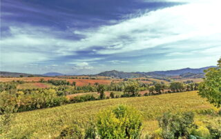 Panorama campagna Perugia