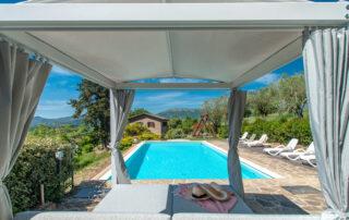 casa con piscina affitto esclusivo umbria